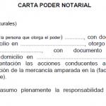 Carta Poder Notarial Cheryl Macias Ejemplo De Carta Cartas