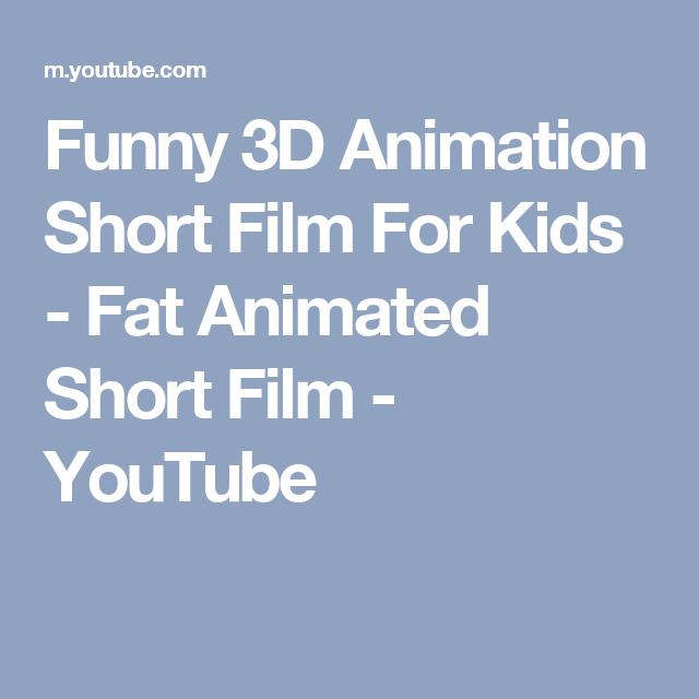 Funny 3D Animation Short Film For Kids - Fat Animated Short Film - YouTube