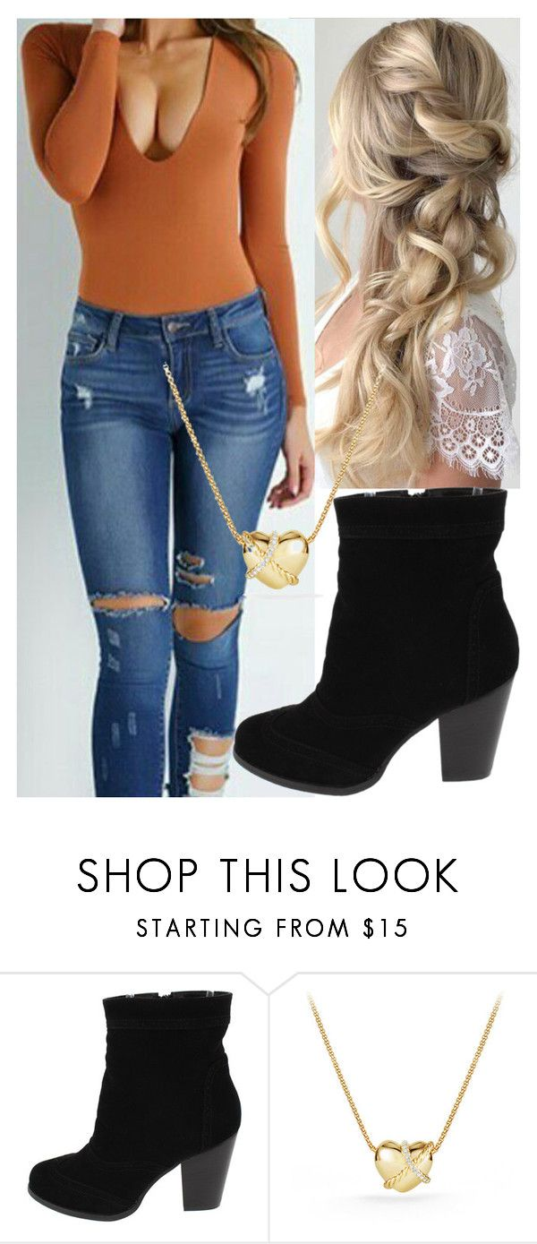 """""""Untitled #9768"""" by carmellahowyoudoin ❤ liked on Polyvore featuring David Yurman"""