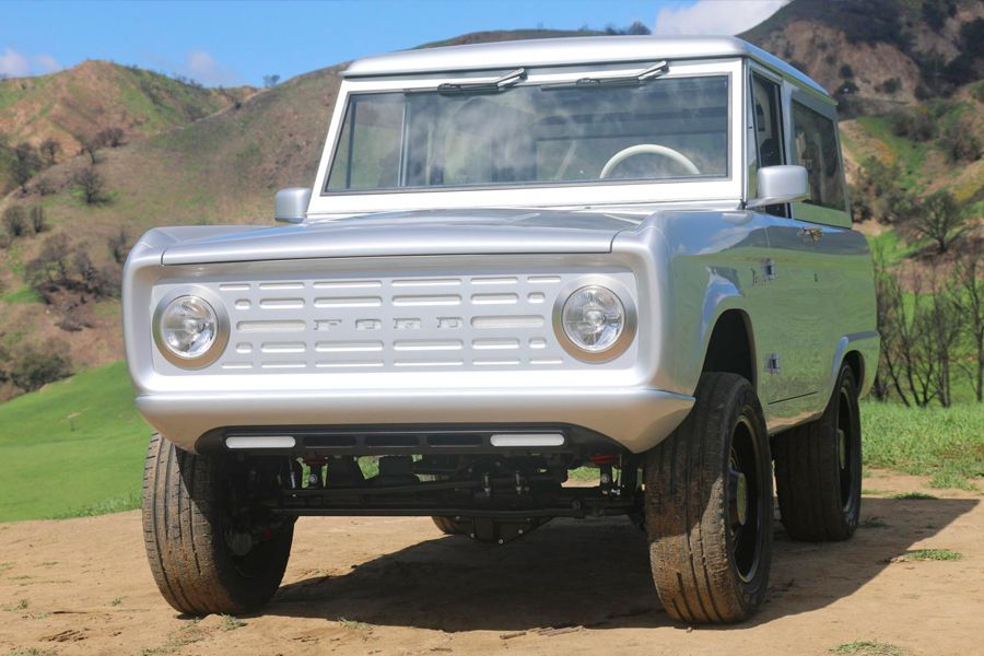 Zero Labs Electric Ford Bronco Ford Bronco Classic Ford Broncos