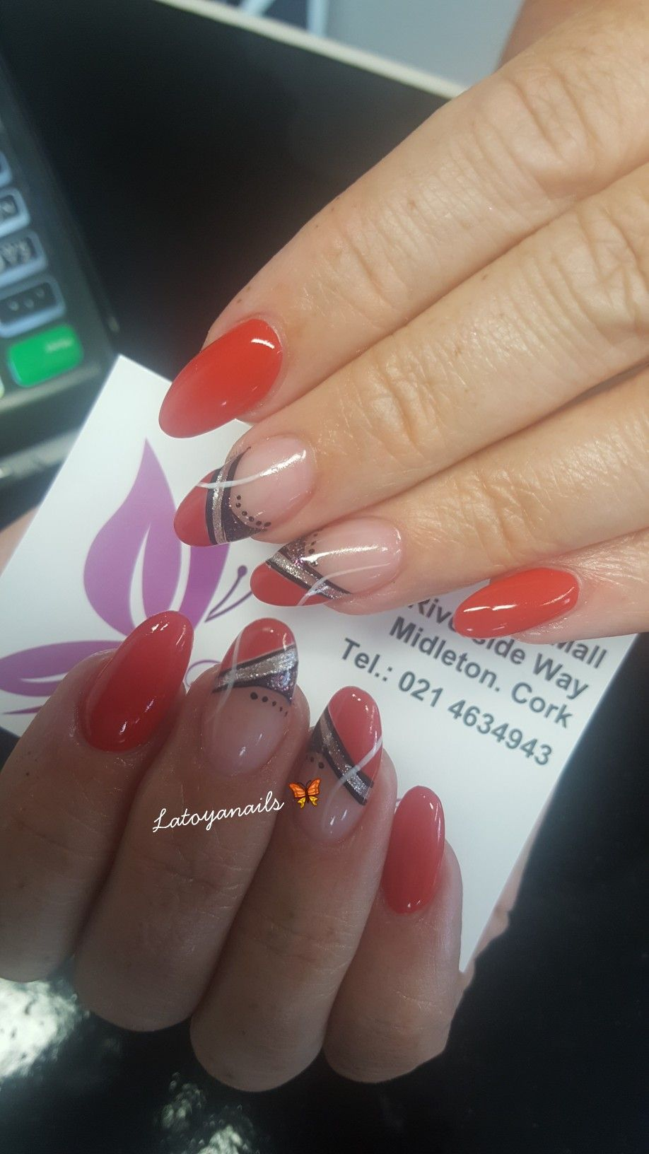 Pin On Acrylic Nails By Latoya Fitzgerald