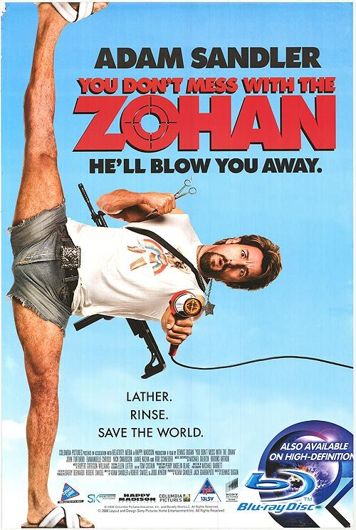 you dont mess with the zohan movie streaming