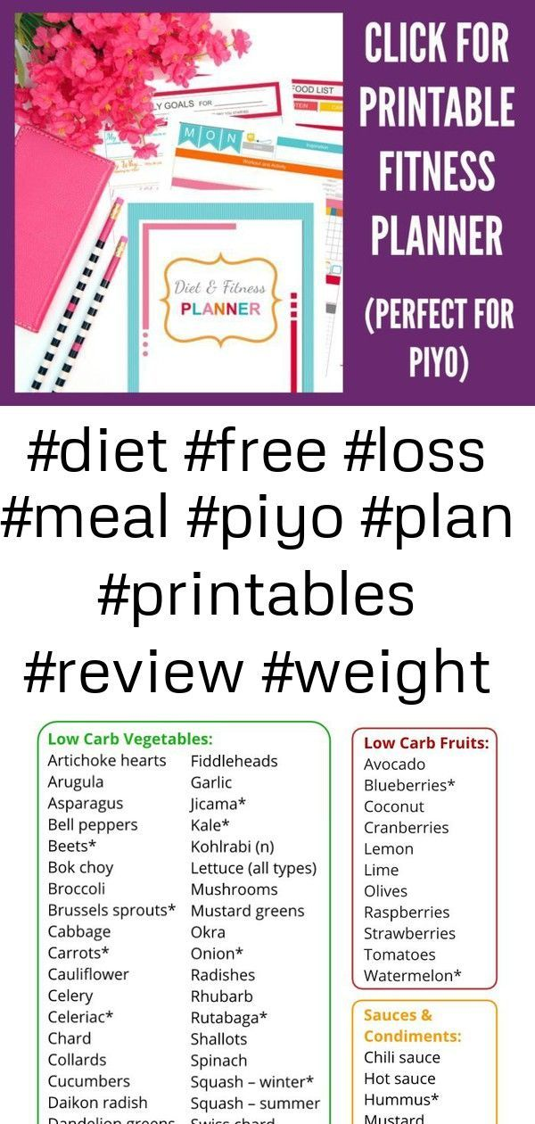 #diet #Fitness #Free #loss #Meal #piyo #Plan #planner #printables #Review #weight #Diet #FREE #Loss...