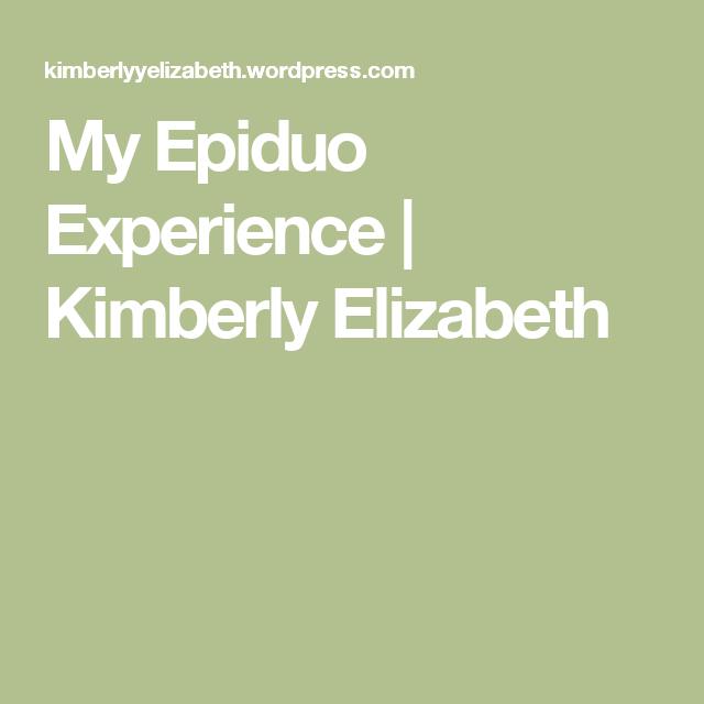 My Epiduo Experience | Kimberly Elizabeth