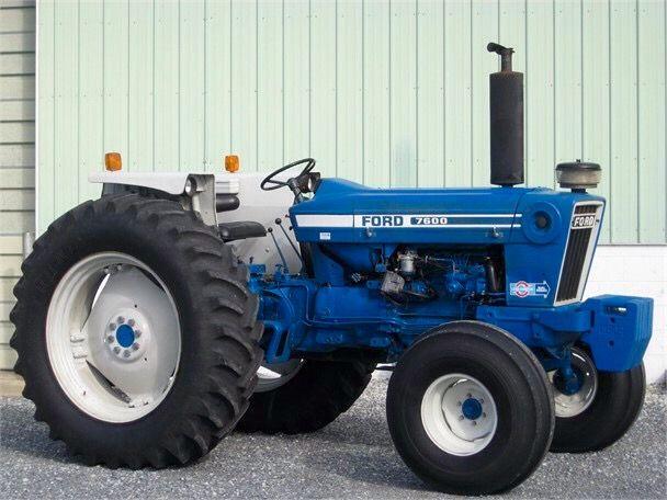 1979 Ford 7600 Vintage Tractors Ford Tractors Tractors