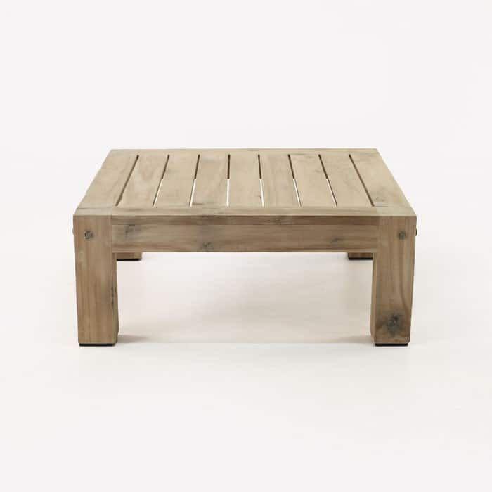 Distressed Teak Outdoor Coffee Table In 2020 Teak Outdoor Coffee Table Outdoor Coffee Tables Garden Coffee Table