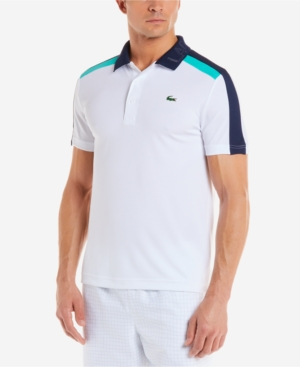 0ec63b867 Lacoste Men's Technical Pique Tennis Polo - White 3XL | Products in ...
