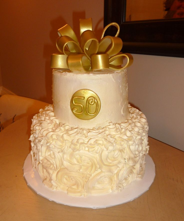 Beau 50th Wedding Anniversary Cake Things Iu002639ve Made Pinterest 50th Wedding  Anniversary Cakes Ideas 736x881