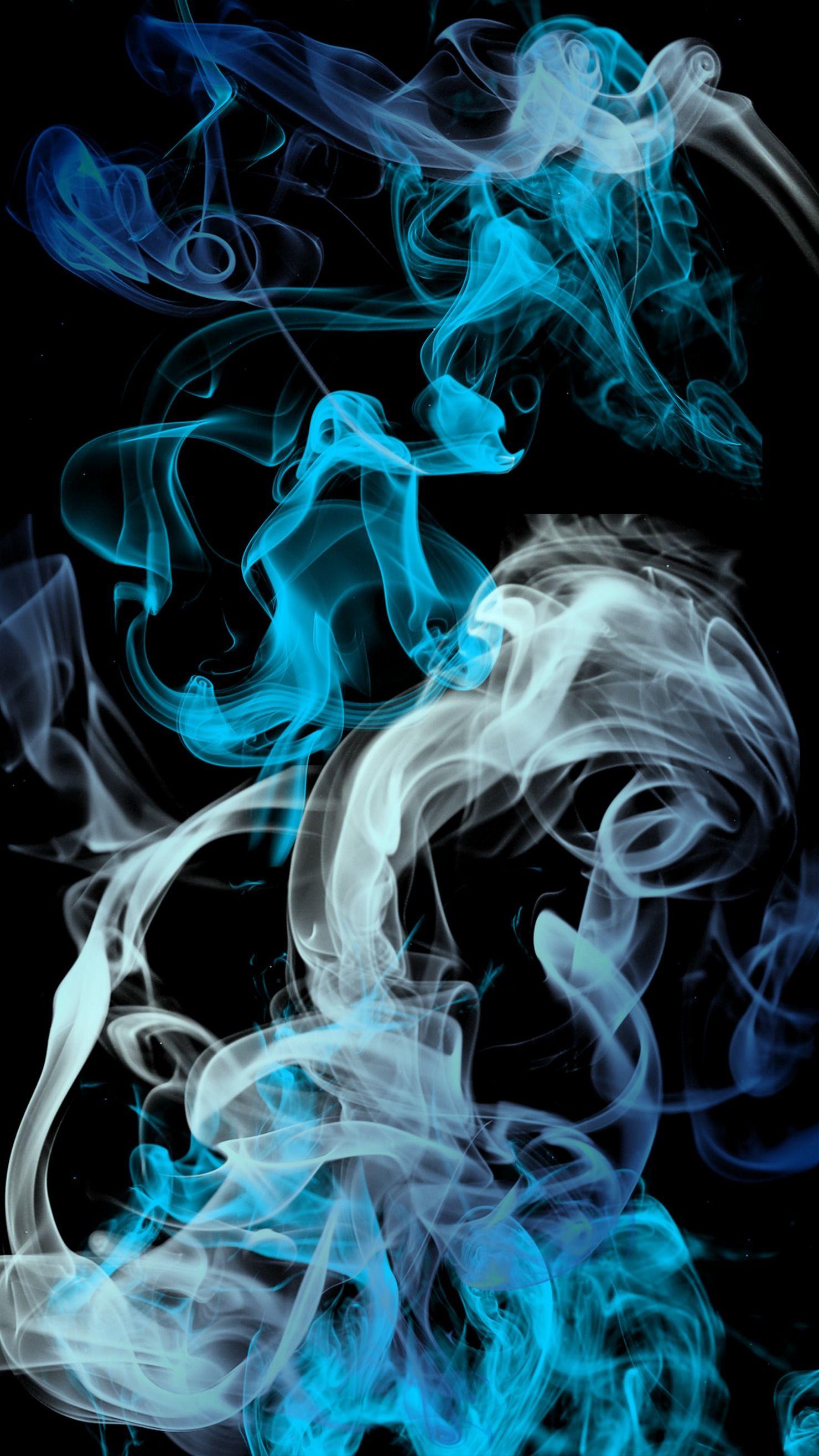 Blue Grey Black Smoke Background Iphone Retina Smoke Wallpaper Grey Wallpaper Android Black Background Wallpaper