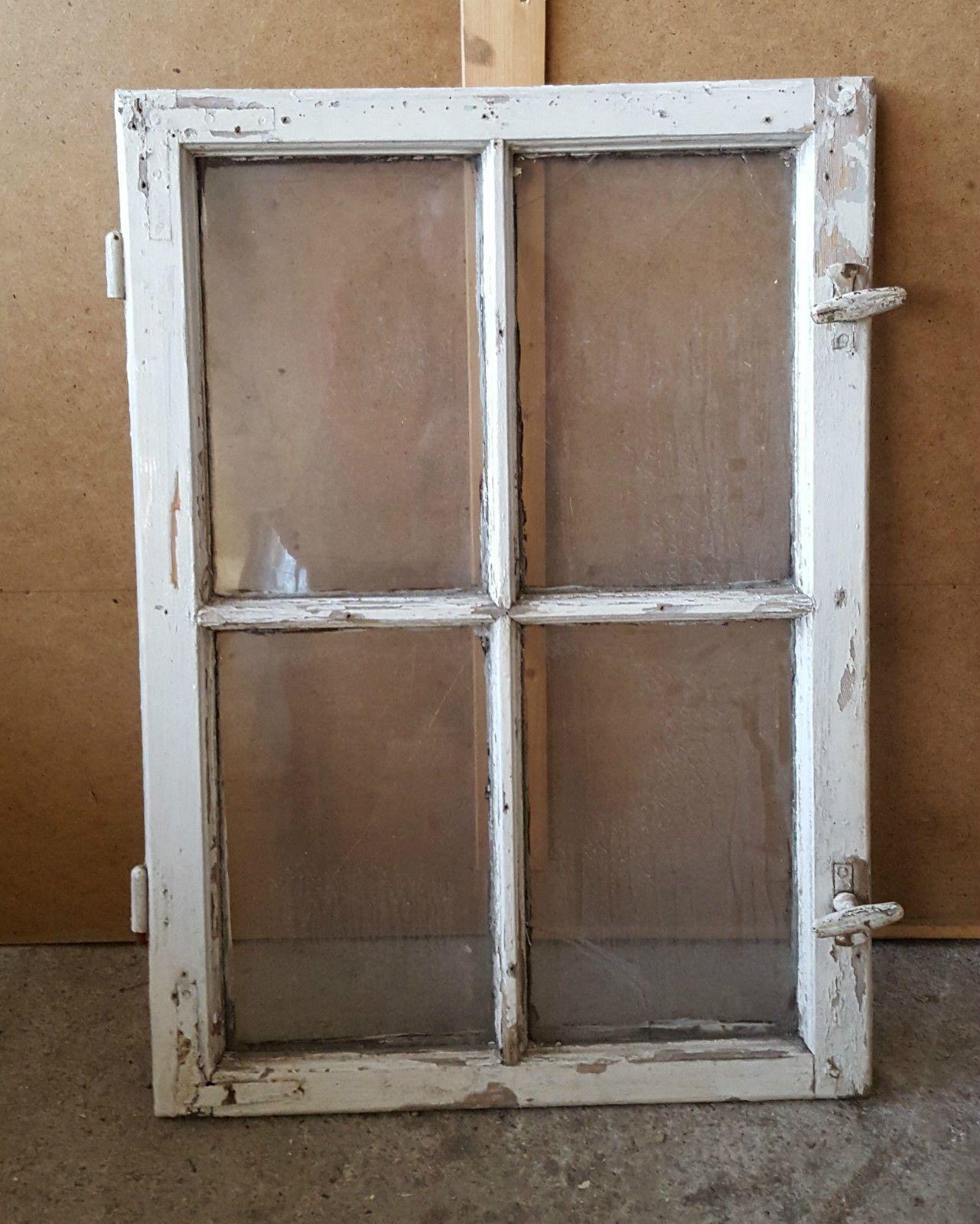 altes fenster sprossenfenster 1 fl gel loft shabby holzfenster ebay h tten pinterest. Black Bedroom Furniture Sets. Home Design Ideas