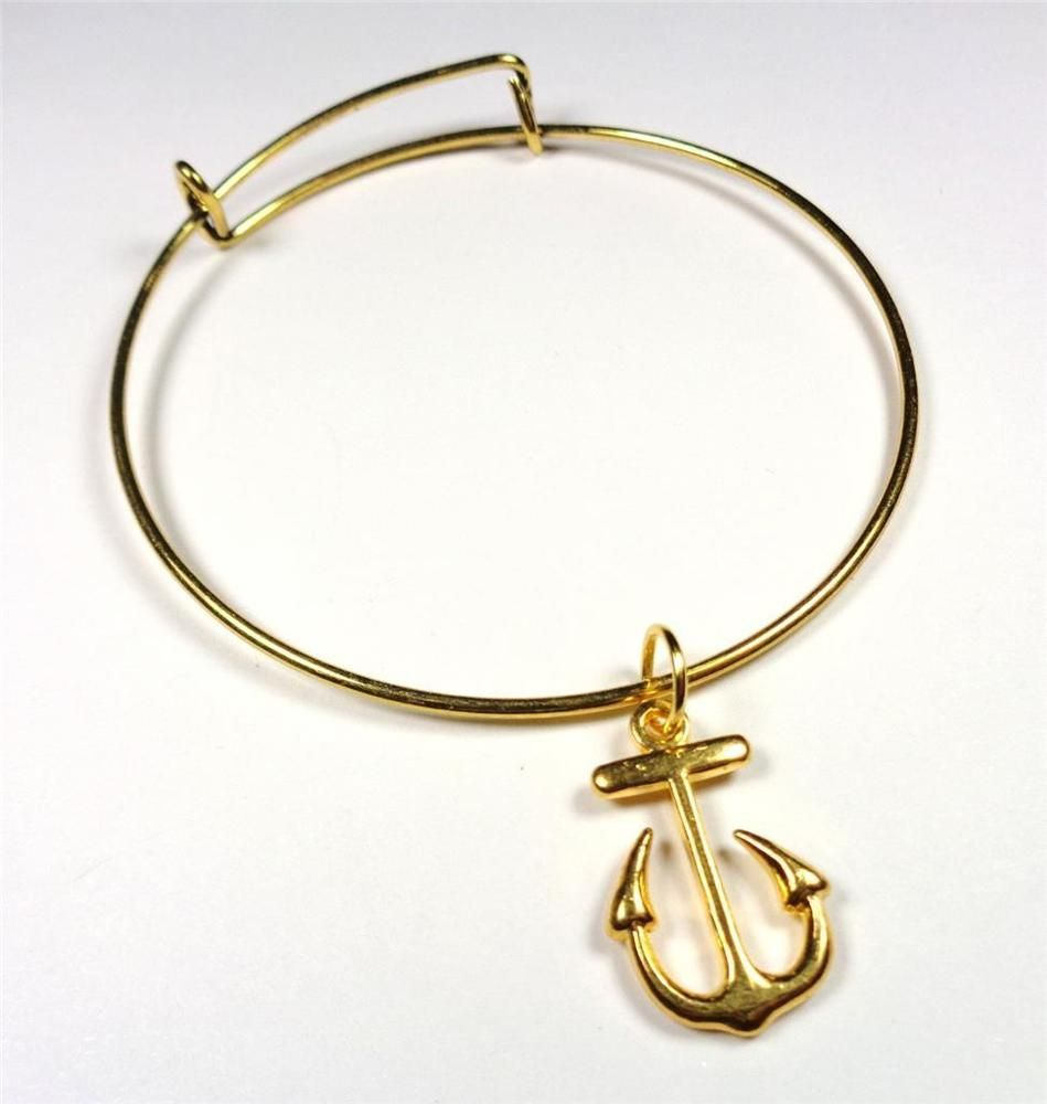vintage bangle brand anchor in tafree charm antique gear boat bangles eternal ankh fire plated life rhodium silver from glass bracelet dome symbol circle egyptian bracelets item scissors jewelry