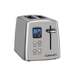 2 Slice Countdown Metal Toaster With Images Stainless Steel Toaster Toaster Replacing Kitchen Countertops