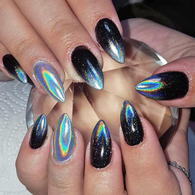 24 Chrome Nails Design - The Newest Manicure Trend - 24 Chrome Nails Design - The Newest Manicure Trend Chrome Nails