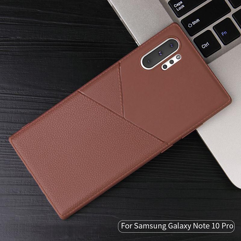 NOWSELLERS™ Case Silicone Leather Pattern Samsung