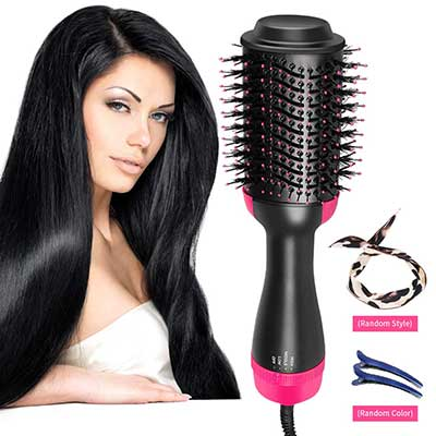Top 10 Best Electric Hair Brush Straighteners for Women in