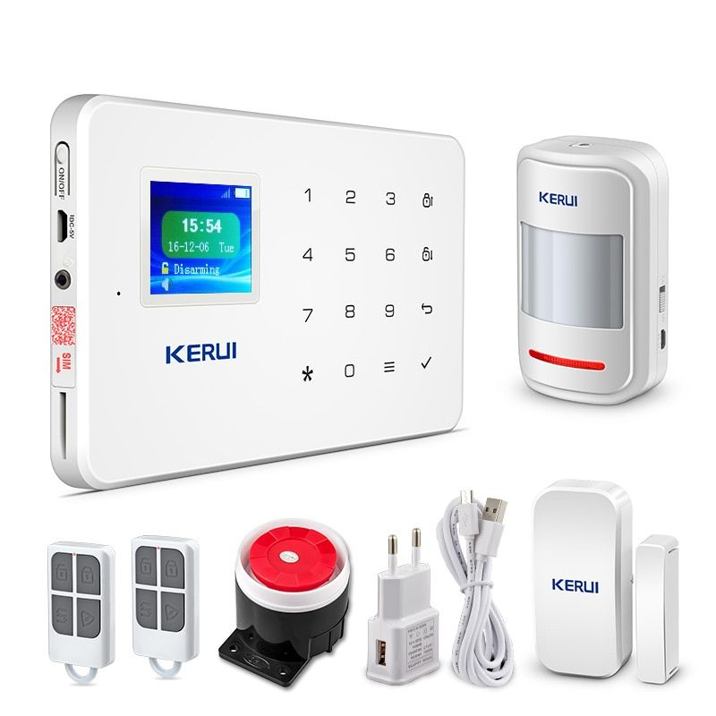 Wireless Home Gsm Security Alarm System Diy Kit App Control With Auto Dial Motion Detector Sensor Burglar Alarm System G18 Ecomyshop Shop All You Need Home Security Alarm System