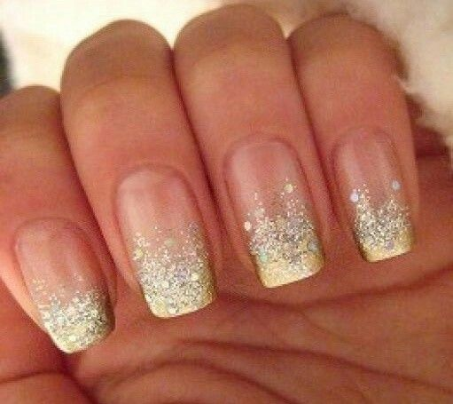 Discover Ideas About Gold Nails