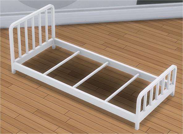 toddler metal bed frame mattress - Metal Toddler Bed Frame