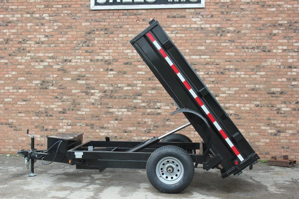 Griffin 8 Dump Trailer Check Our New Inventory Page For Price And Availability Dump Trailers Utility Trailer Trailer