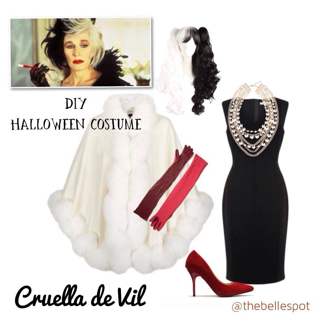 Cruella de vil diy halloween costume thebellespot thebellespot cruella de vil diy halloween costume thebellespot thebellespotgmail solutioingenieria Image collections