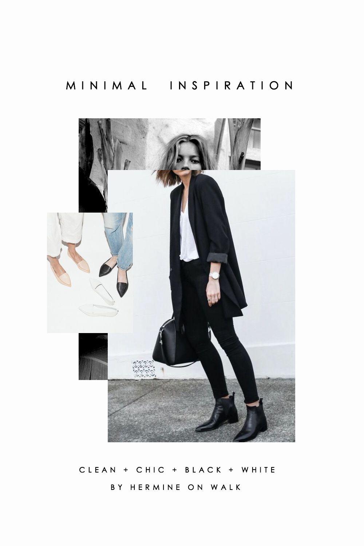 Minimal Fashion Inspiration #graphicdesign