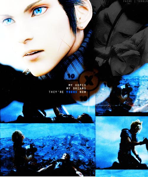 Final Fantasy 7 Crisis Core. That game was good but sad!