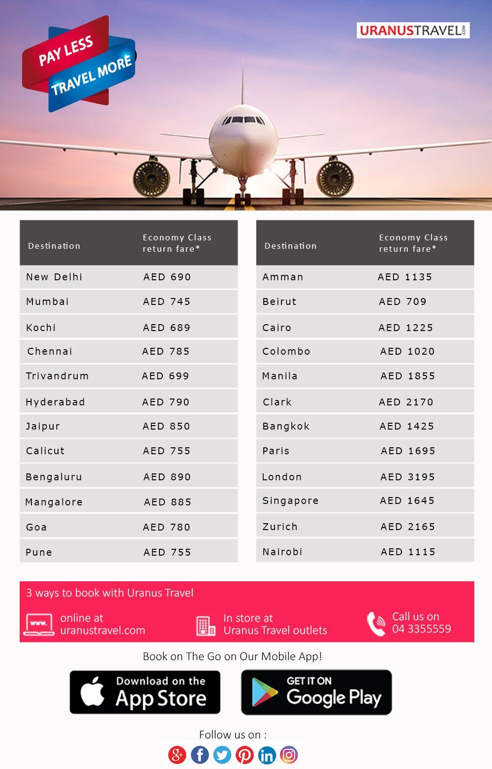 Flight discount alert! A break away from the heat is