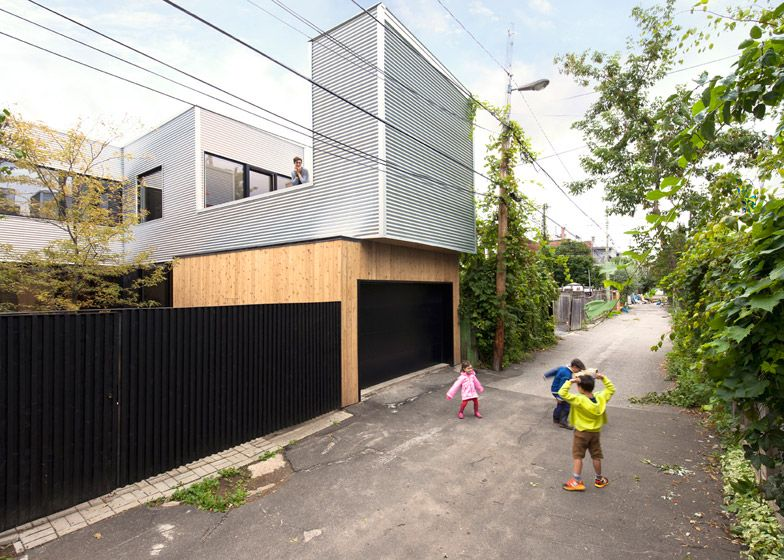 La Shed Architecture - Renovation of an old residence in a Montreal ...