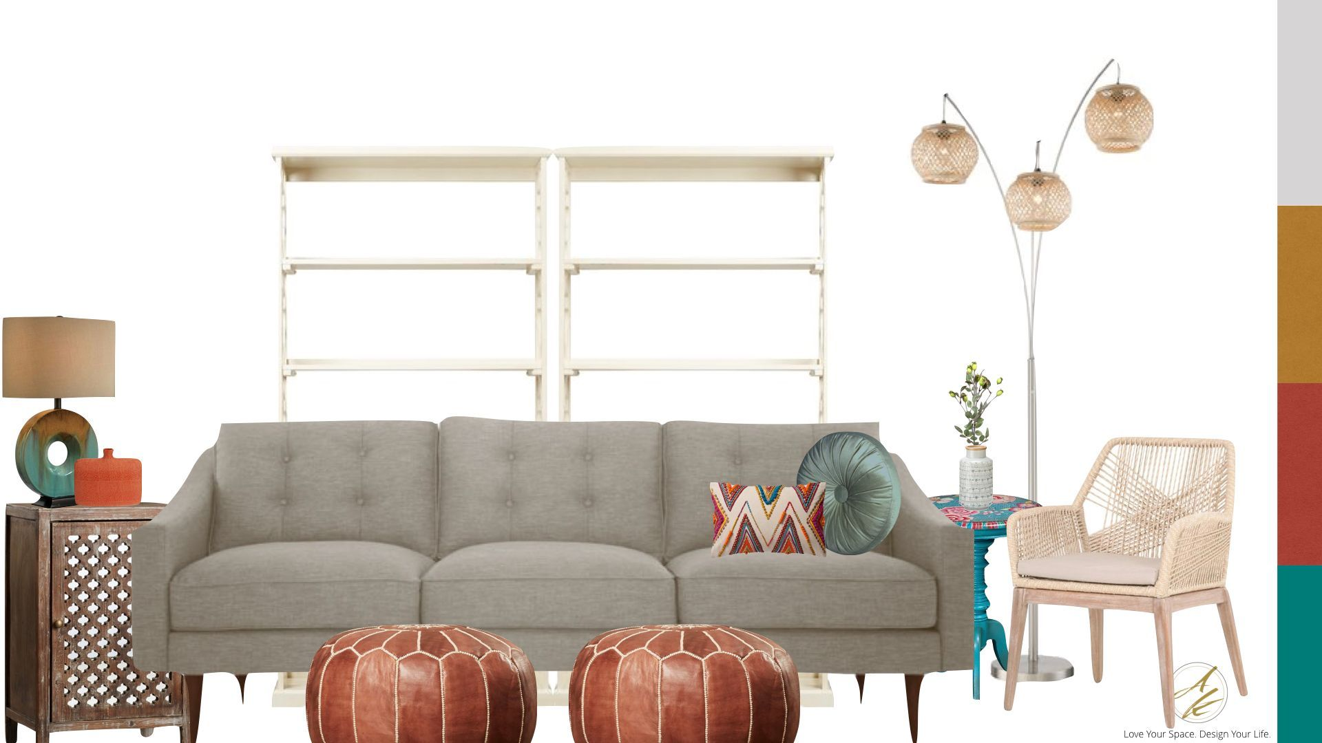Whatu0027s Your Interior Design Style? Could You Be Boho Eclectic? Take The  Albie Knows