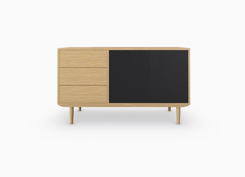 Sideboard 101. Image/ http://kroft.co/new-products/white-oak-sideboard