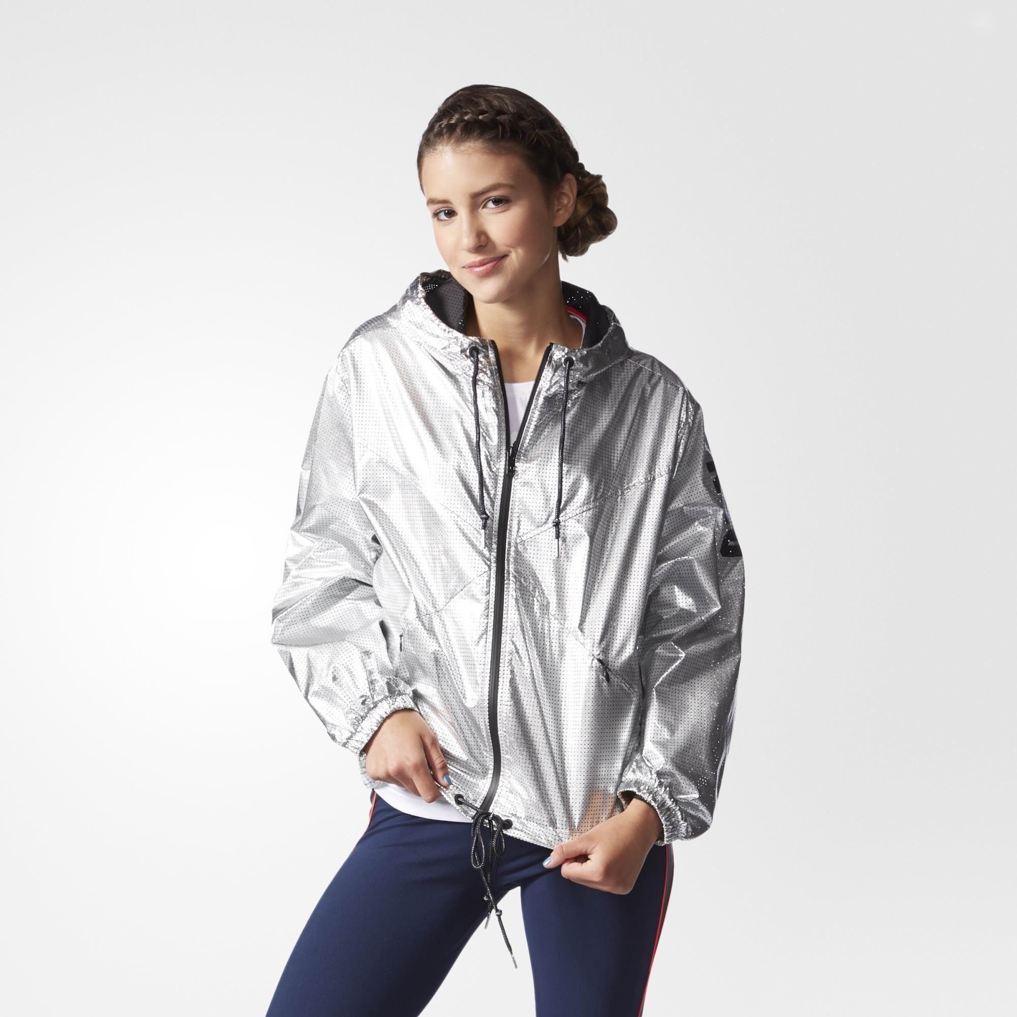 4fbdd05ef adidas Silver Windbreaker - Silver | adidas US | Street | Adidas ...