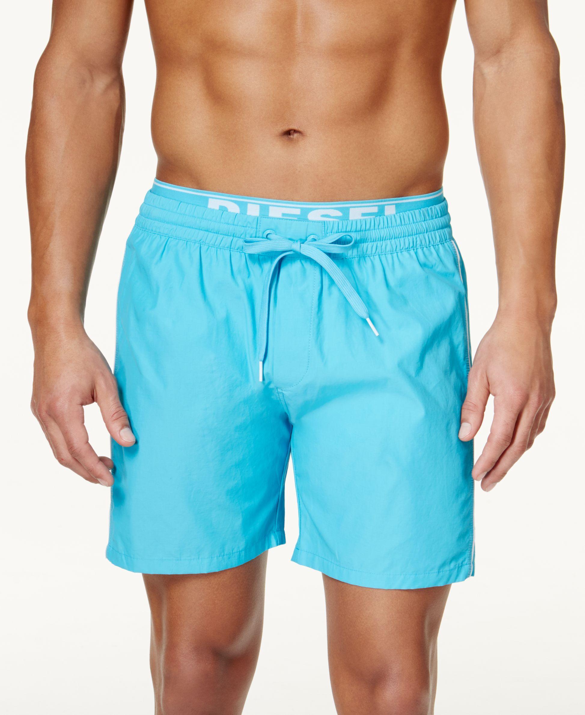 d20bb734405 Diesel Men's Bmbx Dolphin-e Solid Swim Shorts | men's swimwear ...