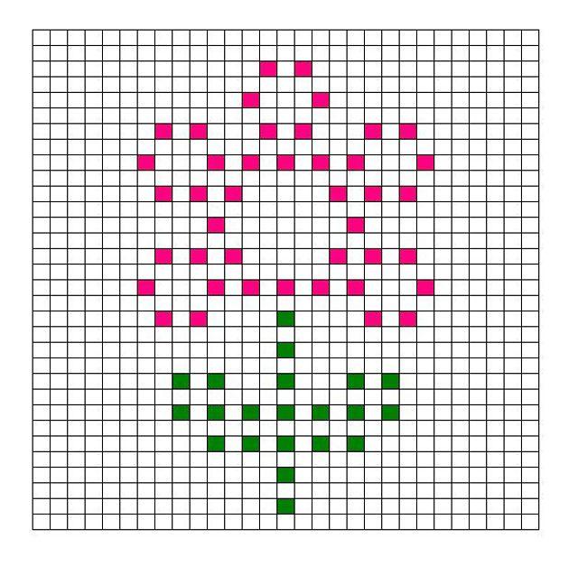 Ravelry: Flower Bobble Chart by Kari Philpott   Tricot gratuit ...