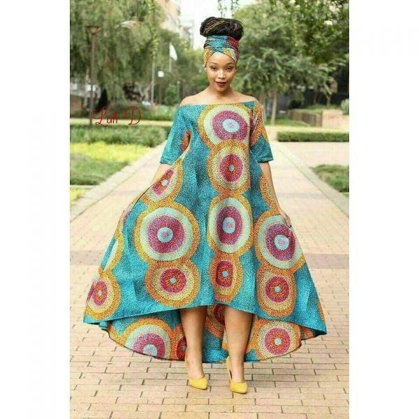 30 Best Kitenge Designs for Long Dresses 2020 Kitenge Styles
