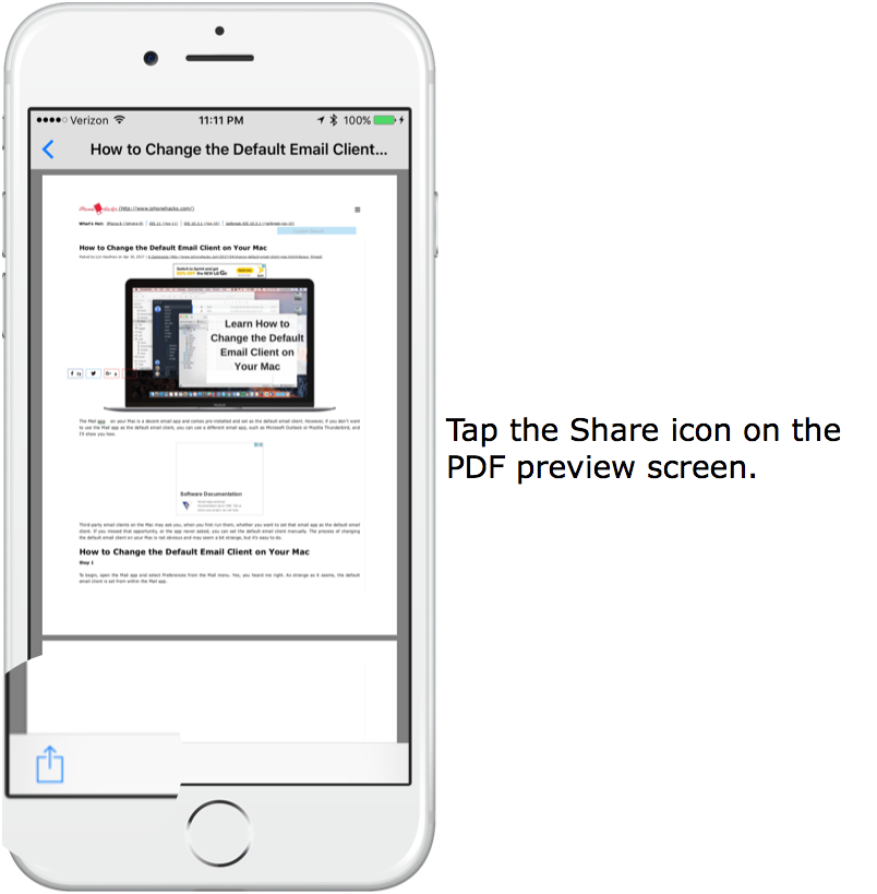 How to Print to PDF from Almost Any App on Your IPhone or