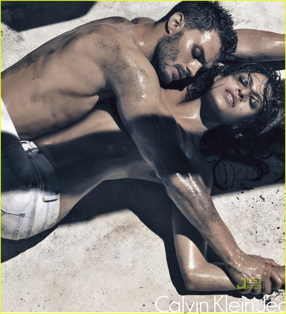 Erotic photography jeans ads