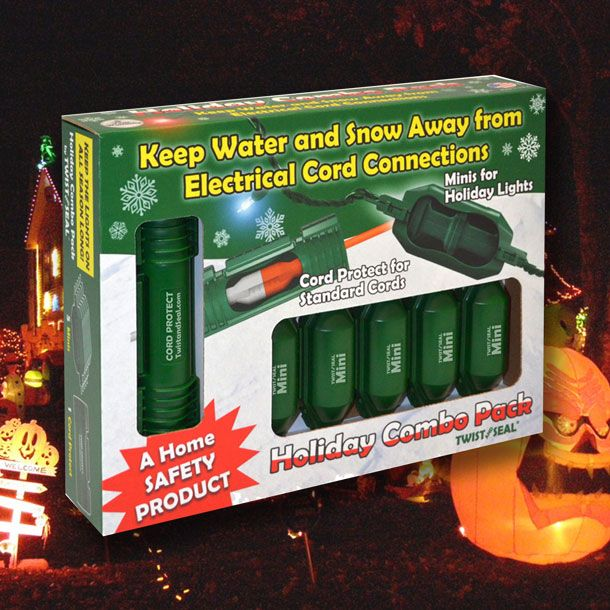 Holiday Light Combo Safety Pack - Holiday Light Extension Cord