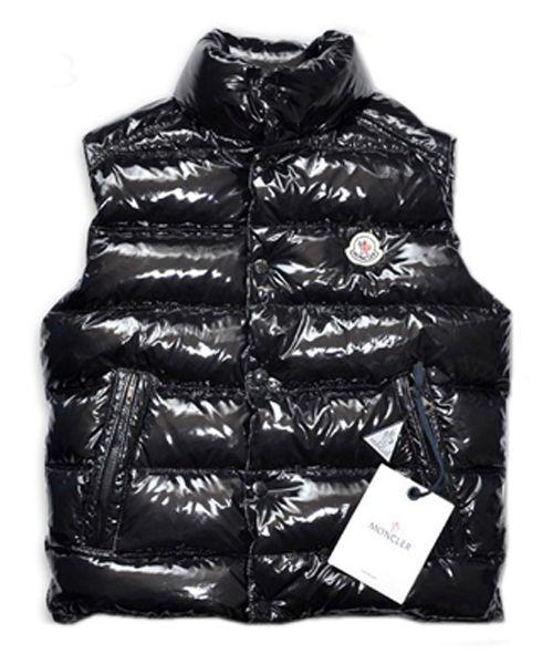 931288f1a Moncler TIB Design Men Down Vests Sleeveless Black [2781491 ...