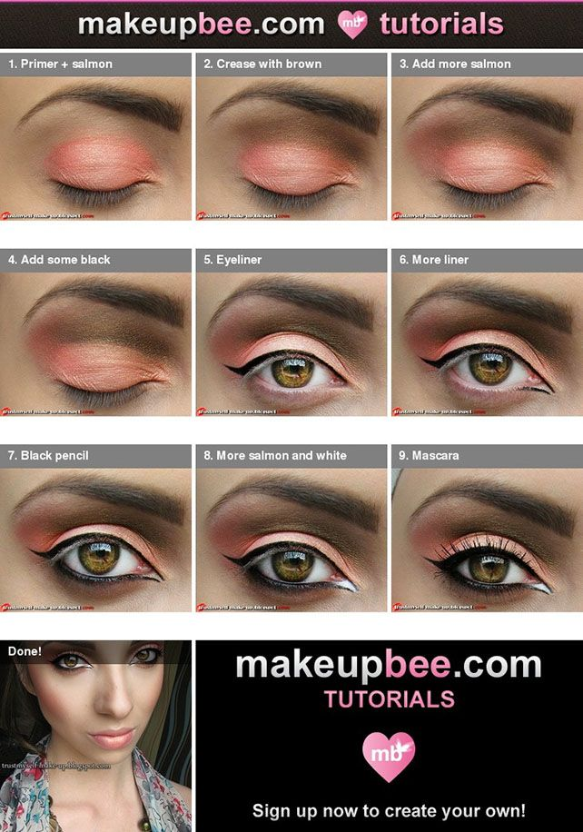 Moroccan Bride Eye Shadow Tutorial Eyeshadow Makeup Beauty