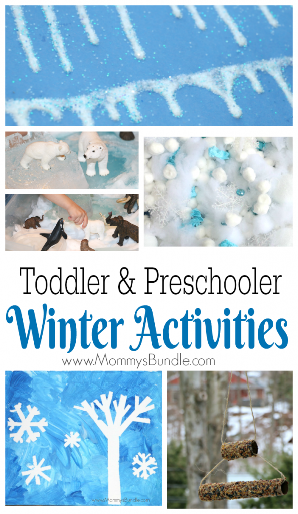 Fun Winter Activities for Toddlers and Preschoolers