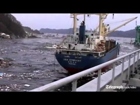 Unseen footage of Japan tsunami released - YouTube