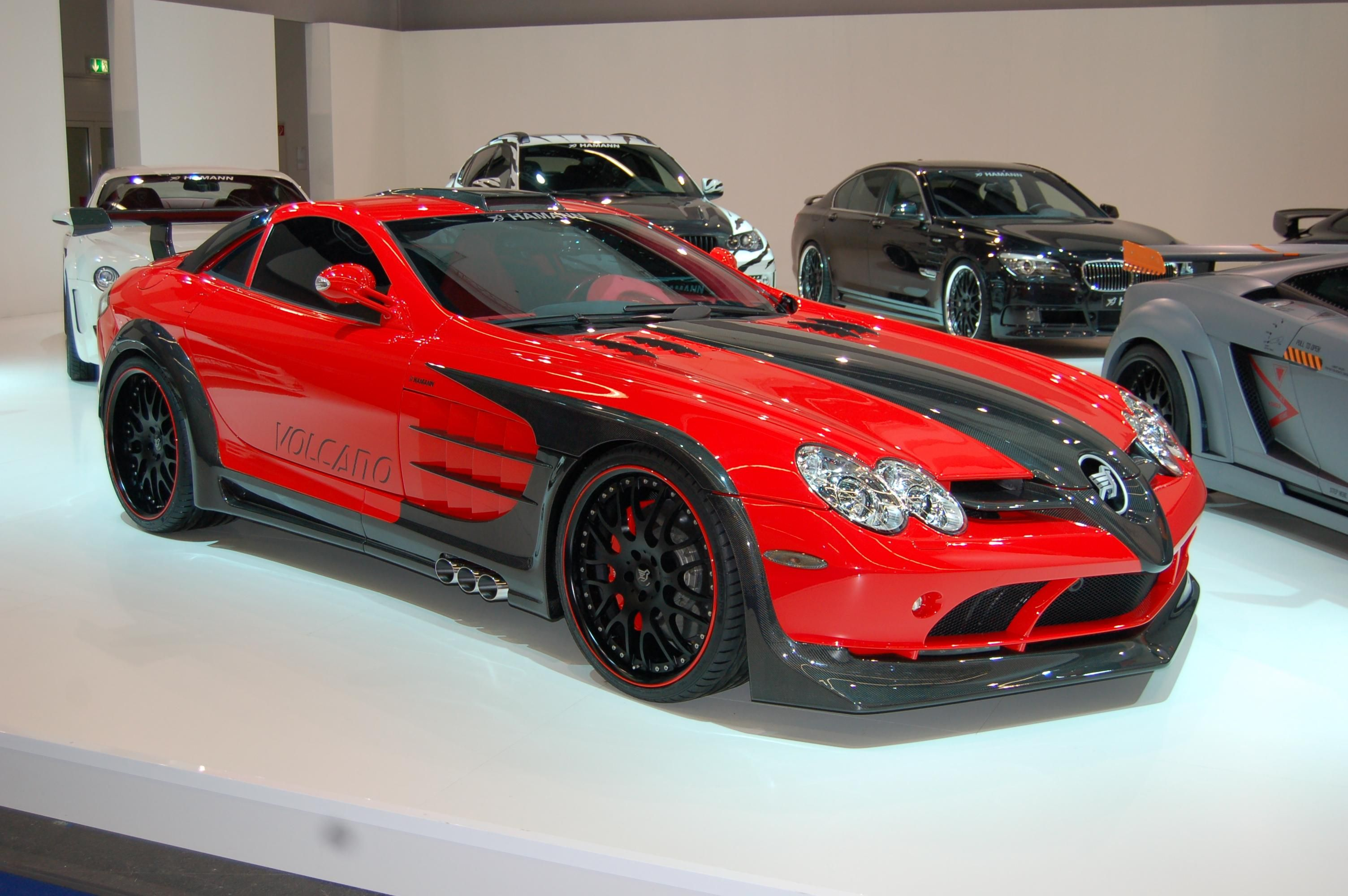Cool Exotic Cars Pictures Mercedes Benz Slr Tuned