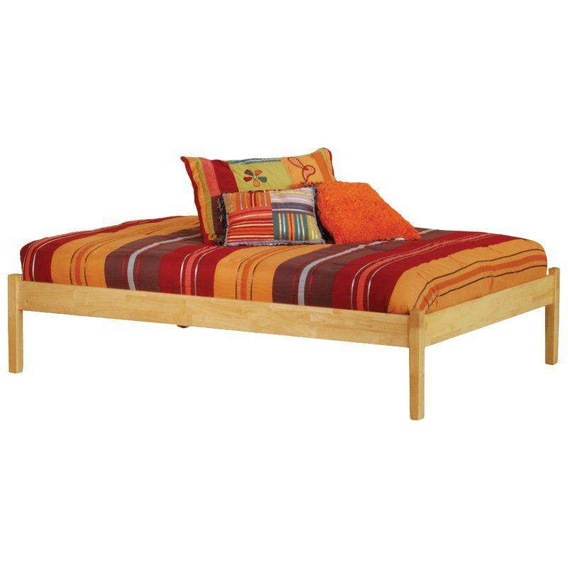 Mackenzie Solid Wood Platform Bed Atlantic Furniture Solid Wood Platform Bed Platform Bed