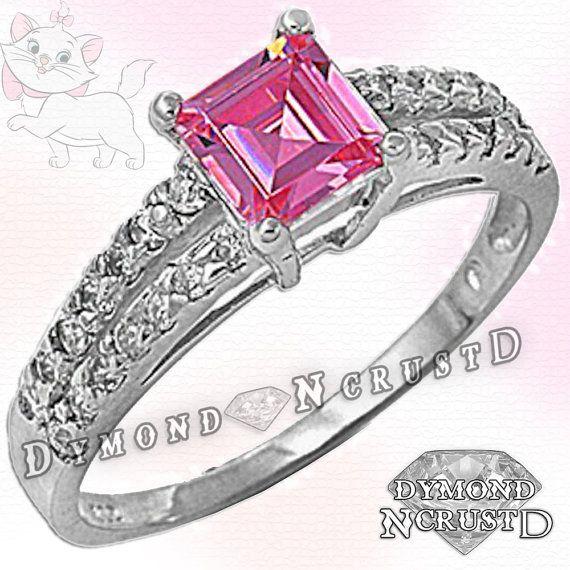 Aristogatos inspiraron princesa Cut rosa topacio por DymondNcrustD