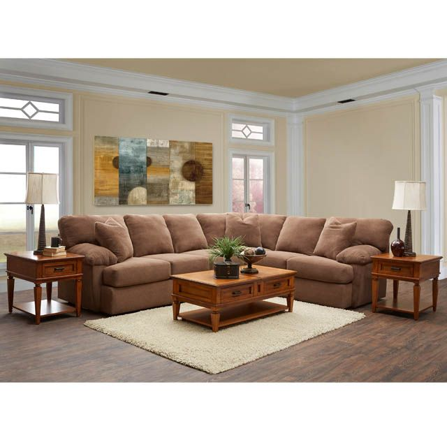 Best Walton 2Pc Sectional Bernie And Phyls Sectional Sofa 400 x 300