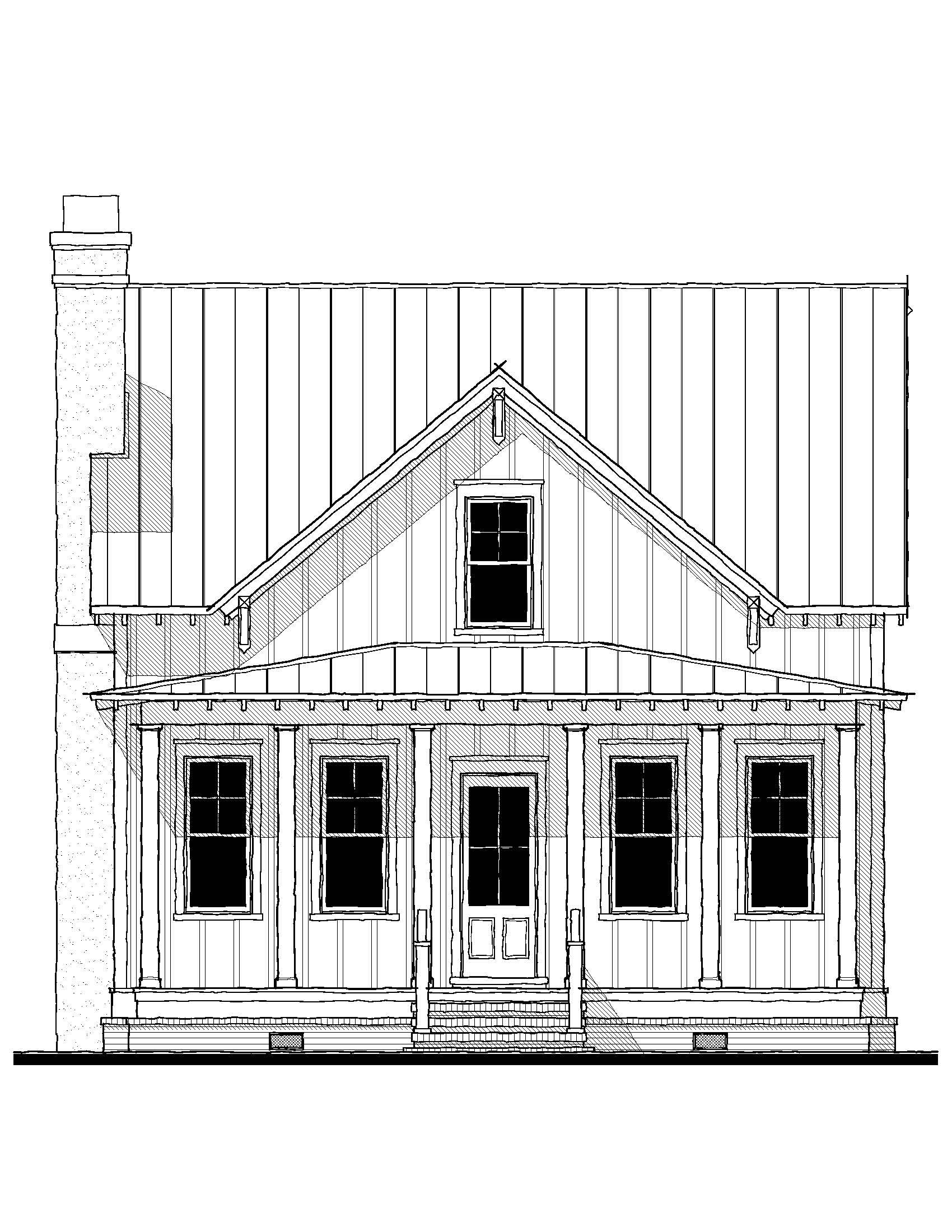Beaufort River Cottage 163170 House Plan 163170 Design From Allison Ramsey Architects Garage House Plans Stilt House Plans House Plans