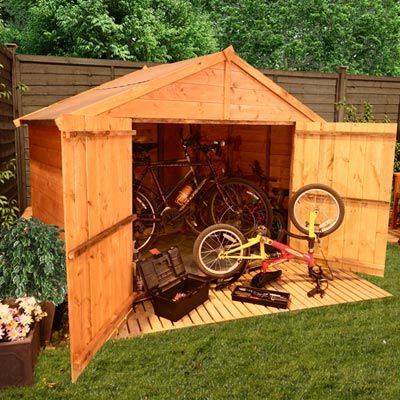 The BillyOh Bike Store 7x3 model | Sheds | Pinterest
