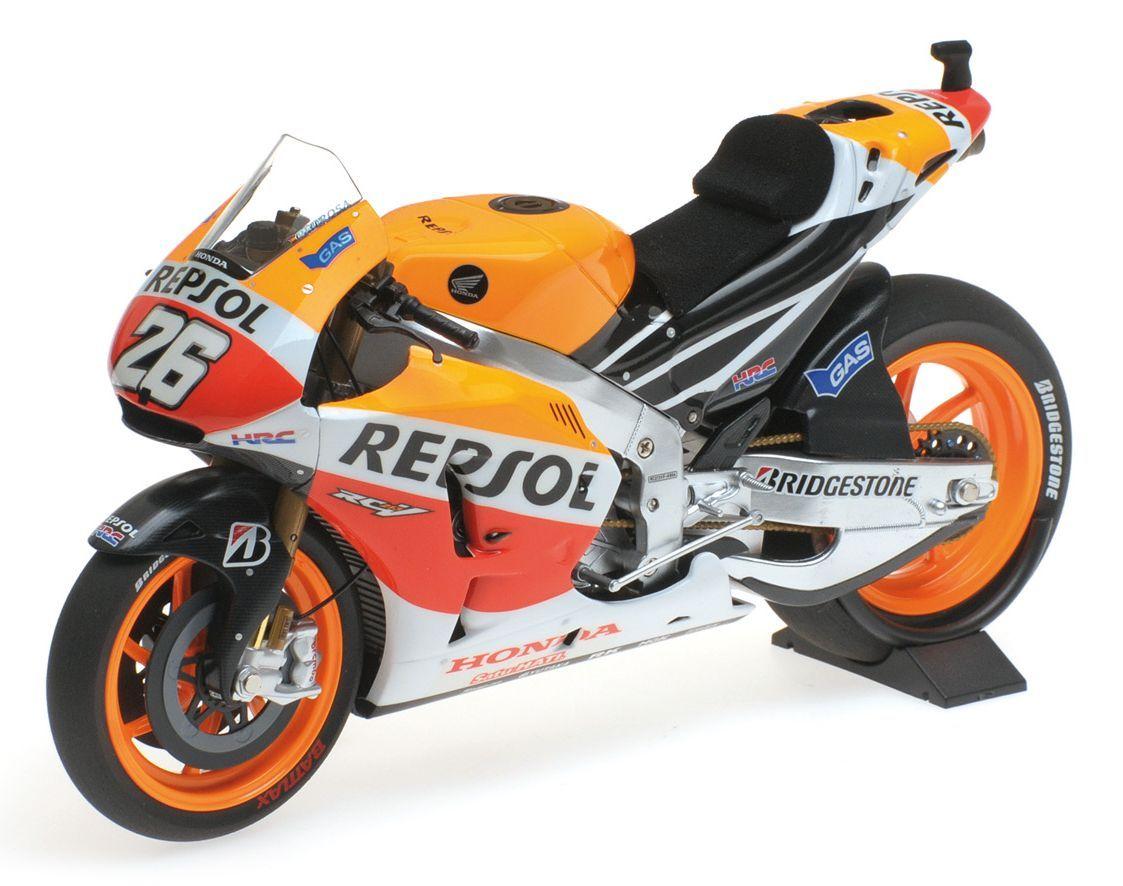 HONDA RC213V TEAM REPSOL MARC MARQUEZ WORLD CHAMPION MOTOGP 2017 Minichamps