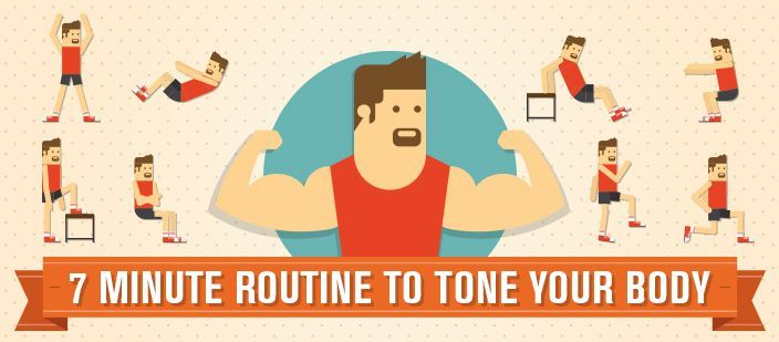 7 Minute Routine to Tone Your Body