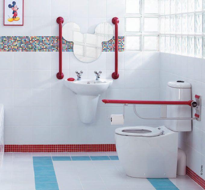 Funny Kids Bathroom Accessories Disney Theme Kids Bathroom - Mickey mouse bathroom accessories for small bathroom ideas